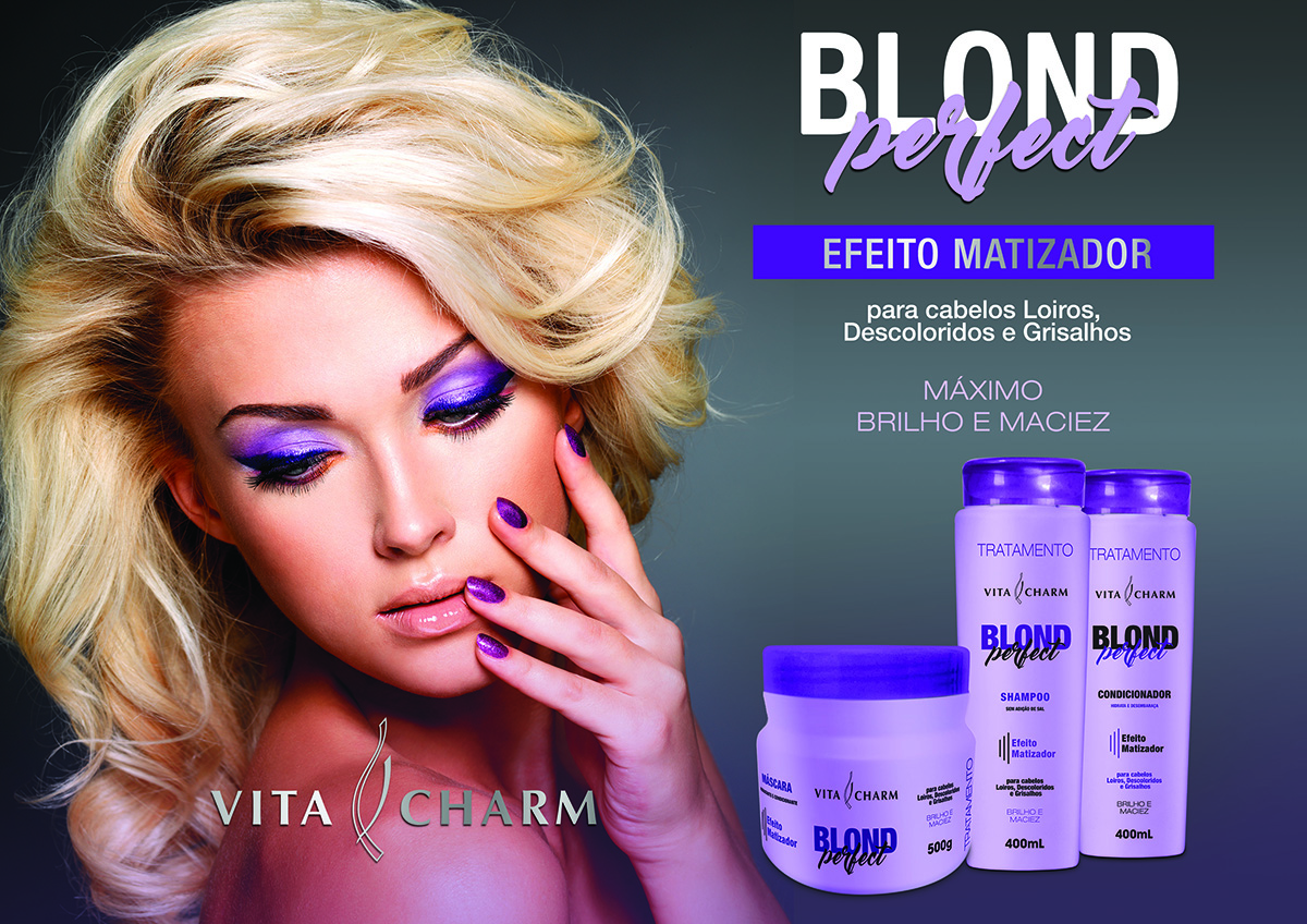TRATAMENTO MATIZADORA BLOND PERFECT
